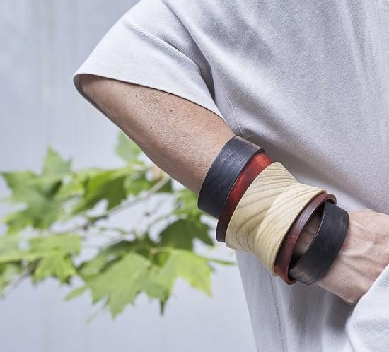 SKOU-Wooden Bracelet
