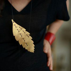 Skouloudi-Fylla-Neckpiece-Golden