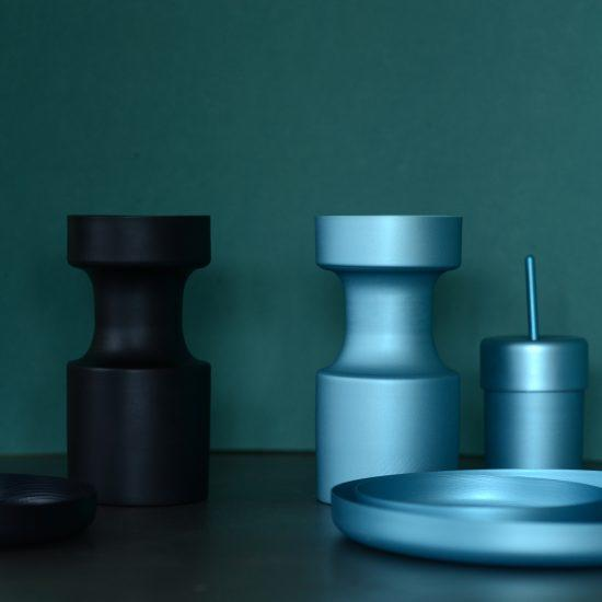 Aether carafe and dish set